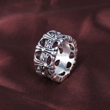High-grade alloy plating jewelry ring men cross non mainstream retro couple ring