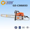 De corte de madera chain saw 2 stroke 52cc gasolina motor barato motosierras venta China fabrica CS-5200