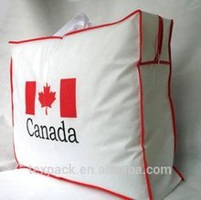 2015 hot vender pp não tecido saco de armazenamento sacos de quilt / edredons / cama edredons bolsa da China e Combodia