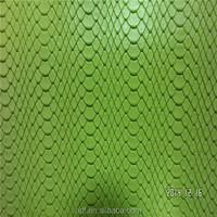 Colorful wholesale snake skin pu imitation leather for fashion shoe
