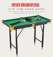 Child snooker table household 1.2m-1.8m folding lift standard snooker table