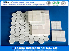 High quality specification high temperature resistance alumina ceramic tile