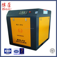 7.5kw 10hp industrial direct driven screw air compressor