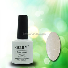 gelily amazing 7.3ml nail gel polish &soak off uv color nail lacquer