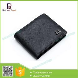 China gold supplier Trade Assurance discount men's sheep leather wallet