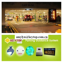 Keytop 2015 new parking solution IP camera based video parking guidance system for search location of cars and free parking lots