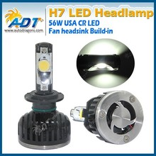Car LED Lamp High Bright 5000LM H7 LED Headlight Conversion Kit