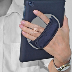 360 rotating hand strap tablet cover for ipad mini 2 case