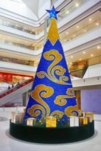 2014 New Design flower made christmas tree