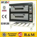 Profesional de acero inoxidable de 2 capas de 8 Bandeja Gas Cake Equipo Hornear máquina panadería