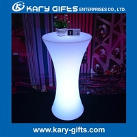 LED light table for event cocktail table for event