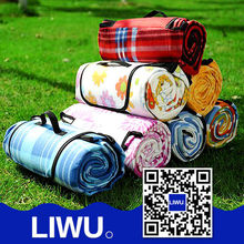 Manufacturer high quality waterproof outdoor picnic blanket target/mat picnic/camping mat