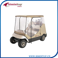 Superior quality 2 seater golf car cover with polyester pigment sale in australia market