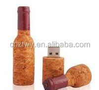 wooden wine cork shape usb flash drive ,wine bottle usb flash drive 8gb,creative wooden usb flash drive 8gb with custom logo