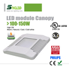 New model UL DLC listed 130w led canopy light, led recessed canopy 130w with 5 years warranty
