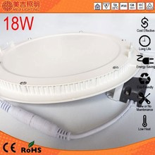 2014 heat CE approval square dimmable 175mm 165mm cut size 12w led round panel light