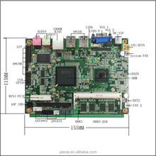 1.86GHz Dual atom DDR3 Motherboard 2G ,32G SSD With Mini Thin Client mini pc motherboard