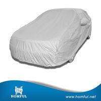 folding car covers 100% water-proof suv car cover polyester car cover
