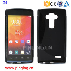 for LG G4 tpu case, S line soft tpu back cover case for LG G4