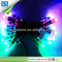 DMX DC12V waterproof led color change rgb pixel light