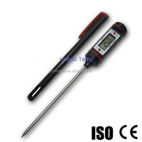 CE Approved Digital LCD Meat Thermometer ,Kitchen Thermometer