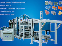 Fully automatic machine for make bricks
