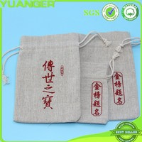 2015 Fancy elegant fashionable jute gift bags wholesale