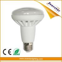 Hot Sell 9W E27 2835SMD Aluminium Plastic LED R80 Bulb Light