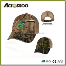 Mens velcro closure digital printting camo cap, polyester sublimation printing fancy sports cap