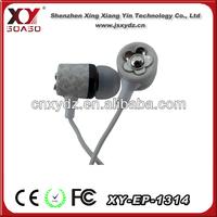 fashion cheap crystal earphone jack dust cap plug made in china