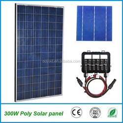 High efficiency 300W poly solar panel for solar system