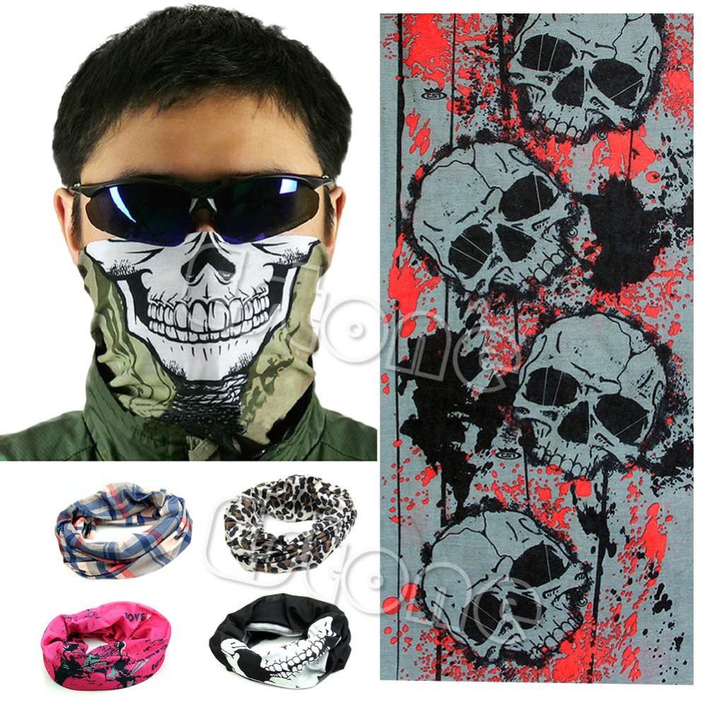 Как сделать маска на лицо с черепом