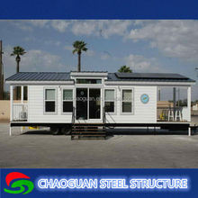 Manufacturer of Modern prefabricated shipping container house luxury modular container houses