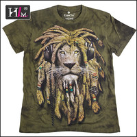 2015 new arrival china Manufacturers full print t shirt home with good quality