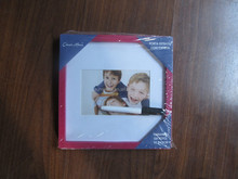 DIY square photo frame with pen and card insert