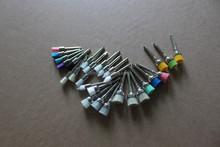 Supply dental disposable prophy brush/polishing brush