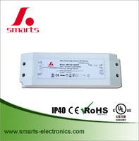 High power 1050mA 35w DALI dimmable led driver for ce ul rohs