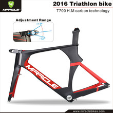2016 Year Discount Price Carbon Time Trial Bike Frame,MIRACLE TT Bicycle Frame