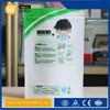 clear pvc plastic bag with snap button mini plastic pvc bag