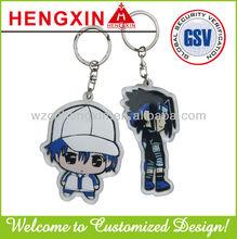Custom acrylic keychain/plastic key chain for promotion HX026