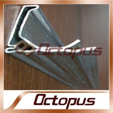 HVAC System Zinc Coating Galvanized Metal Duct Flange With Sealant