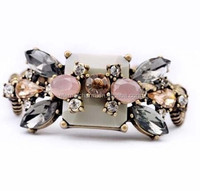 2015 Fashion jewelry trend new designs factory best selling magnetic crystal bracelet