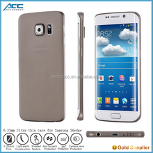 Alibaba express free sample 0.35mm ultra thin phone case for Samsung galaxy S6 edge