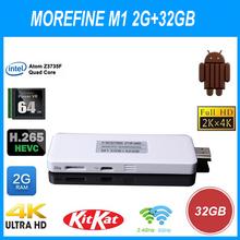 High speed running M1 Smart TV Box Dual Boot/OS Mini PC Win 8.1+Android 4.4 Intel Z3735G Quad Core 2G+32G BT set-top box