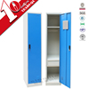 Free standing kd structure one door wardrobe with drawers