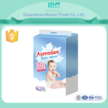 Super Soft Topsheet And S Type Magic Tape Baby Diaper Export to Canada