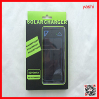 Alibaba For mobile phone and tablet 12000mAh solar automatic battery chargers