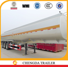High quality 3 axle 33000 liters fuel tanker trailer with 2 compartments