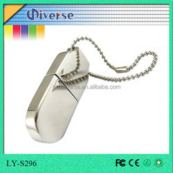 Sample style portable 250gb usb flash drive with necklace