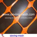 anti corrosivos rojo construcción de la barrera de malla para la alerta y la zona restringida